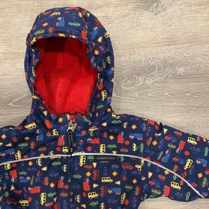 Lands' End   Baby Boys Bunting Snow Suit 12-18 MO
